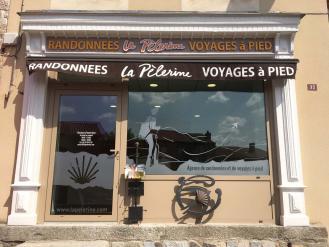 Agence La Pèlerine à Saugues sur le chemin de Compostelle