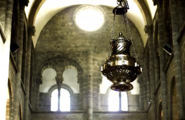 Botafumeiro cathedrale de santiago de compostela