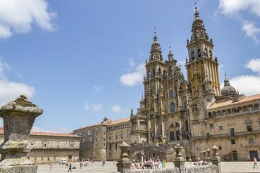 cathédrale de santiago de compostela
