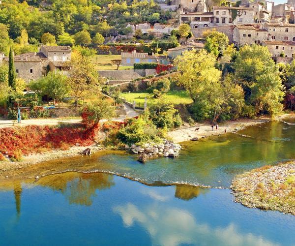 Ardèche Méridionale par les villages de caractères