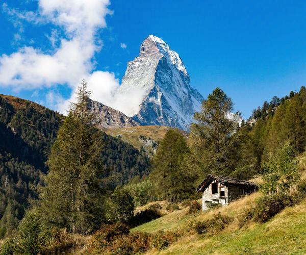 Italie : Massif du Cervin et Alpes italiennes