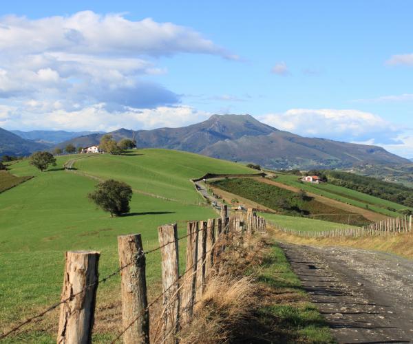 Saint Jean Pied de Port - Hendaye ou Irun, le chemin basque