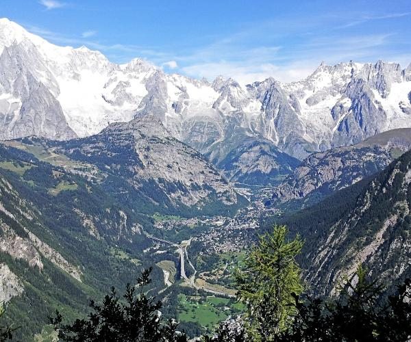 Alpes : Les Panoramas du Mont-Blanc en accompagné