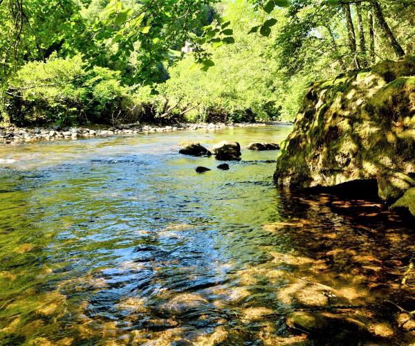Auvergne Cantal : La Vallée de la Jordanne