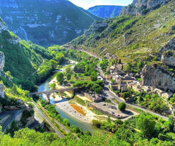 Aumont-Aubrac - Saint Guilhem le Désert par les Gorges du Tarn