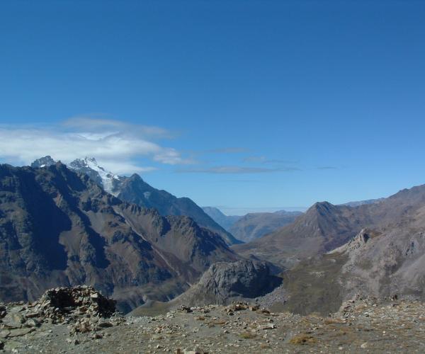 Hautes-Alpes : Névache, Vallée de La Clarée