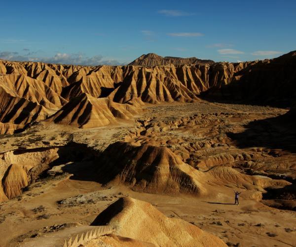 Espagne : Le désert des Bardenas Reales