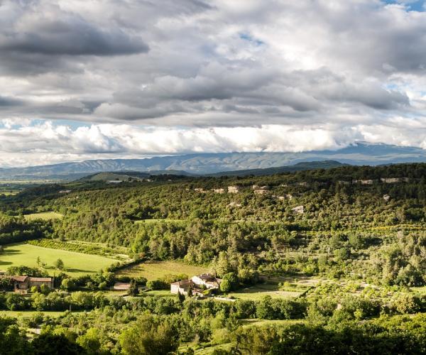 Les dentelles de Montmirail : Traversée de Montmirail au Ventoux