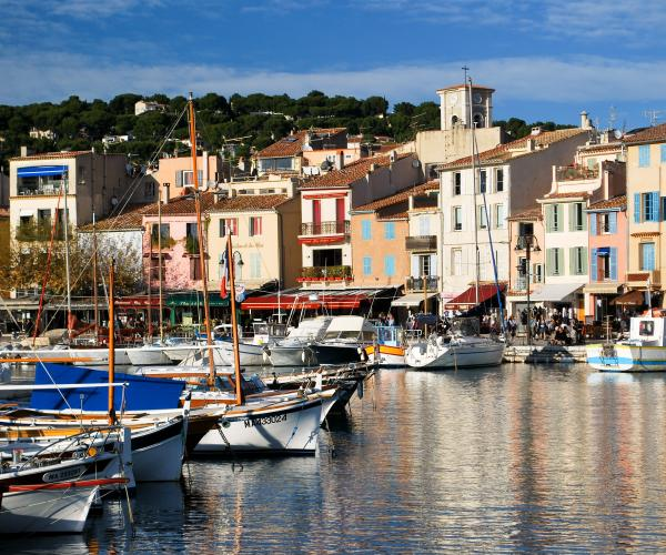 Provence : Les calanques et la côte bleue
