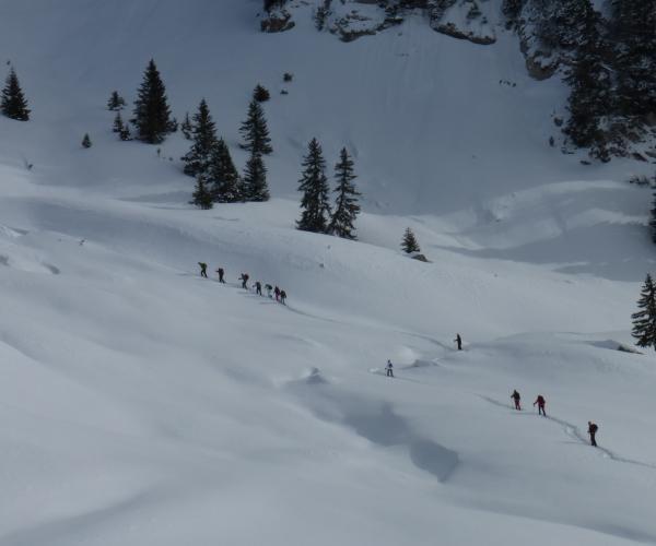 Alpes : La traversée des Aravis en raquettes