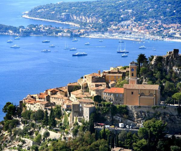 Alpes d'Azur : Les villages perchés