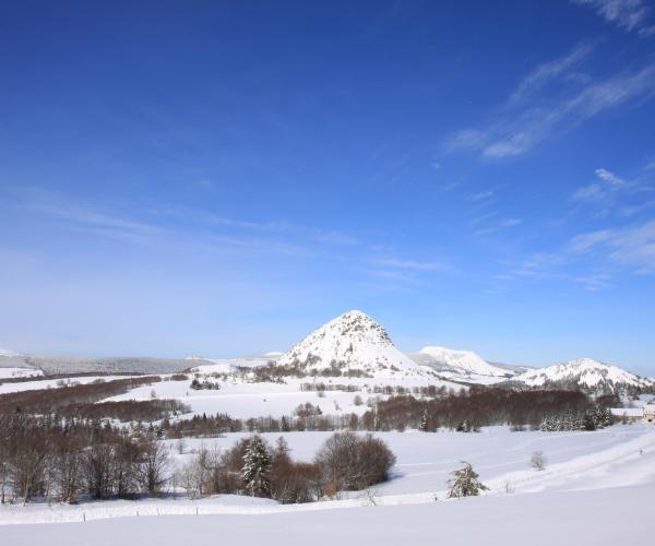 Ardèche : Les monts d'Ardèche et les sources de la Loire en raquettes