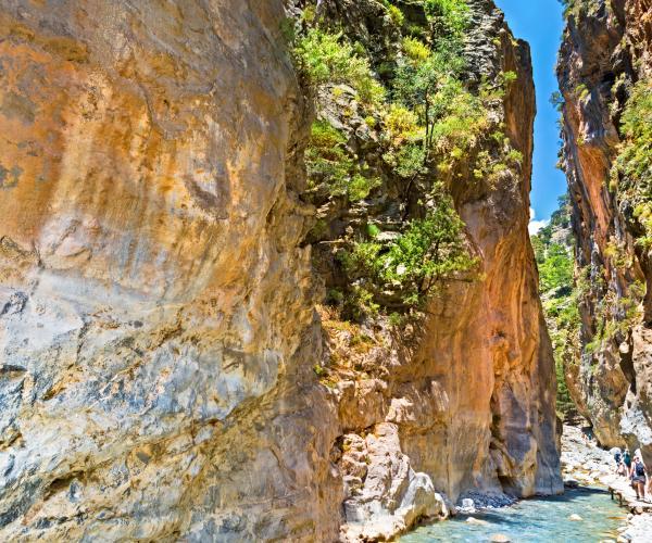 La Crète : Grande Bleue et montagnes Blanches