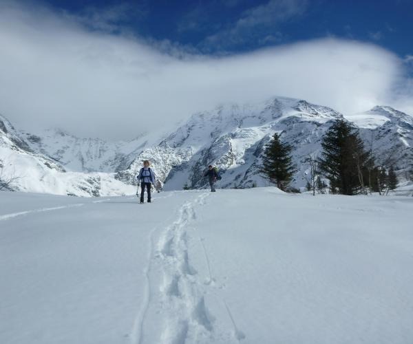 Alpes : Raquettes et Balnéo au Pays du Mont-Blanc