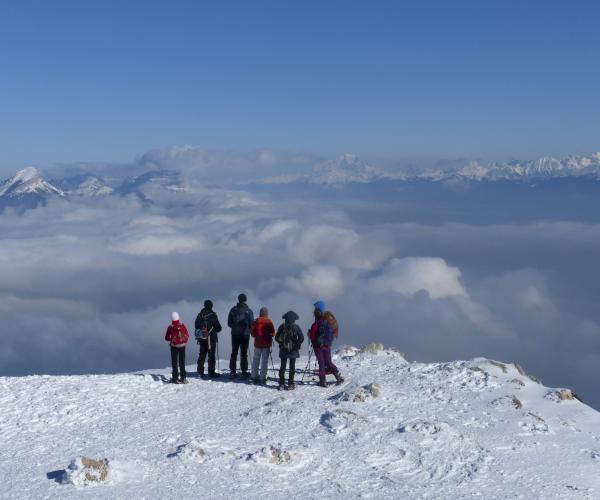 Alpes : Vercors, 1 jour, 1 village en raquettes