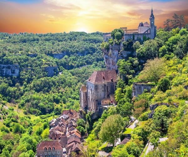 Figeac - Cahors par Rocamadour
