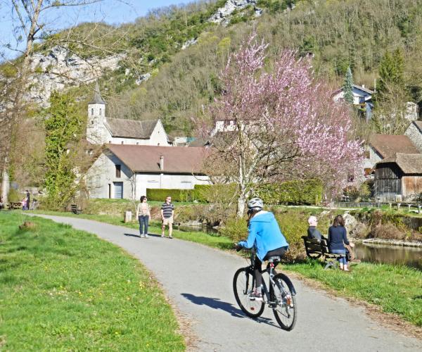 La Via Rhona à Vélo de Genève à Lyon