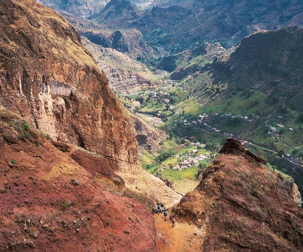 Le Cap-Vert : Paysages Cap-verdiens