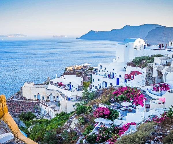 Grèce : Les Cyclades, l'île de Santorin